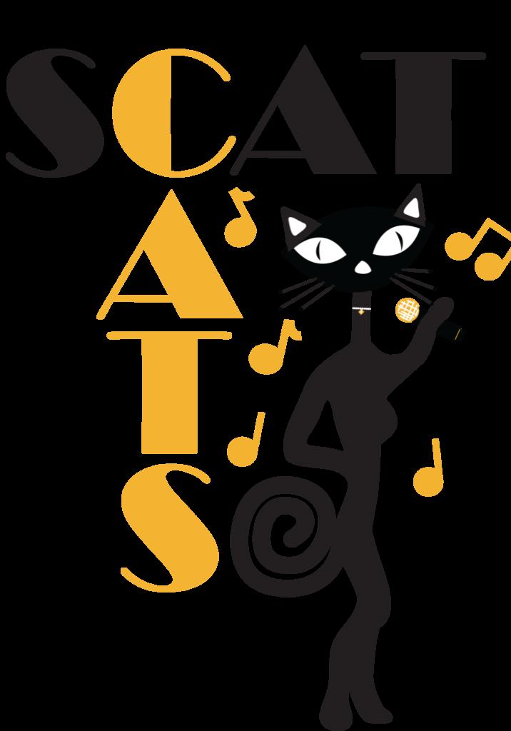 Scat Cats logo graphic